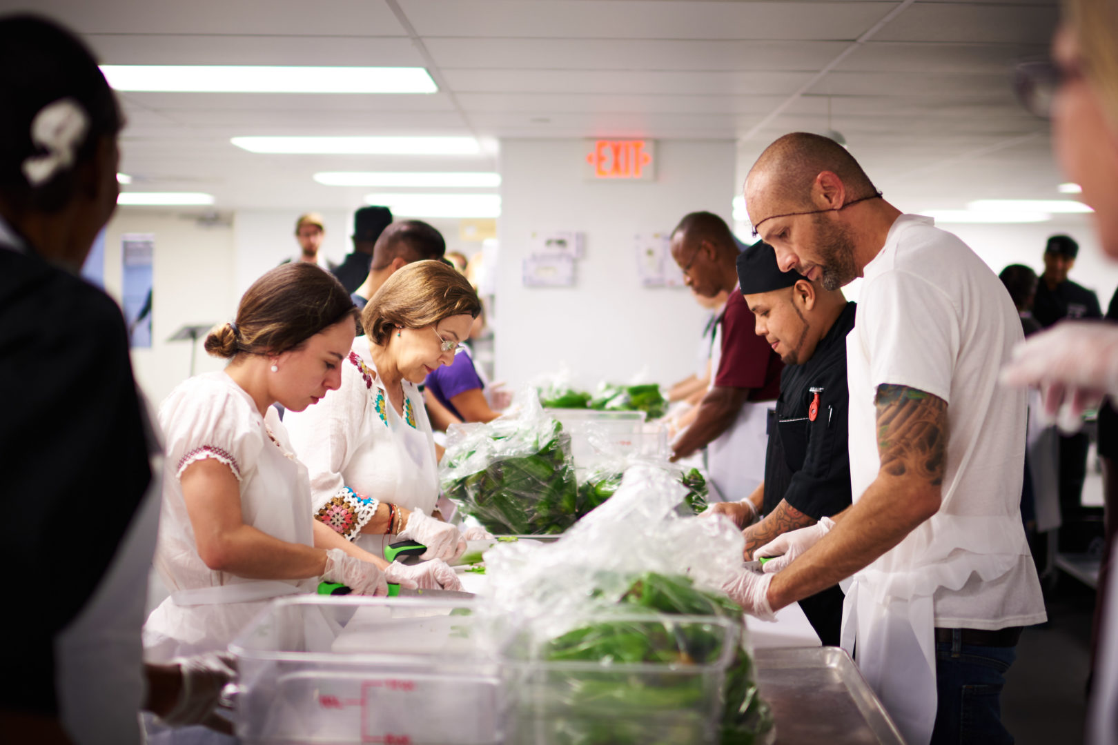 L.A. Kitchen Believes That Neither Food Nor People Should Ever Go To Waste.  By Reclaiming Healthy, Local Food That Would Otherwise Be Discarded, ...