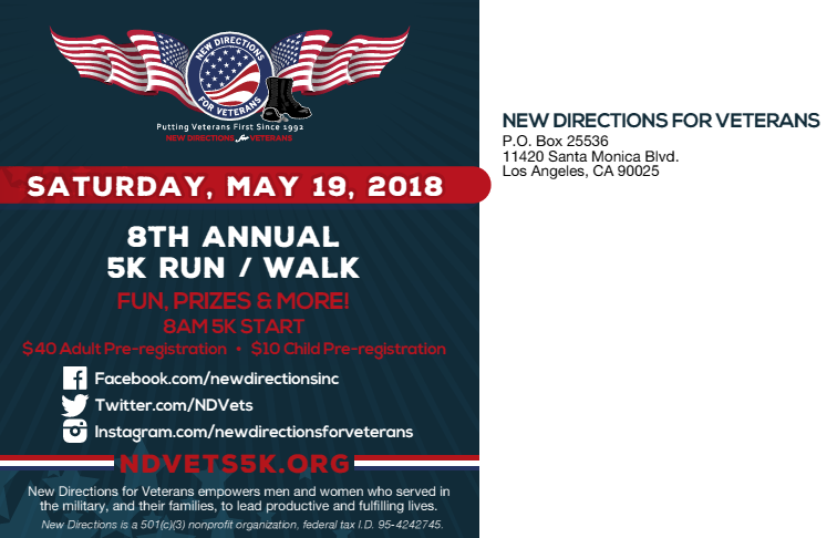 NDVets: 5K Run/Walk! - Homeful LA - Los Angeles